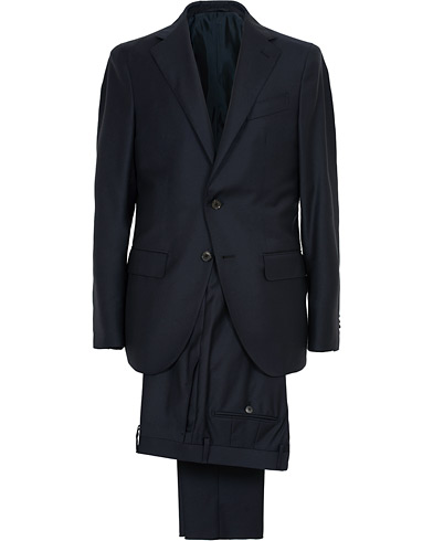 Caruso Aida Classic Super 130's Wool Suit Navy