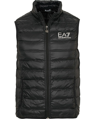 EA7 Train Core Light Down Vest Black i gruppen Kläder / Västar hos Care of Carl (15191611r)