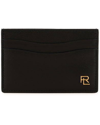 Ralph Lauren Purple Label Leather Credit Card Holder Black  i gruppen Accessoarer / Plånböcker / Korthållare hos Care of Carl (15321410)