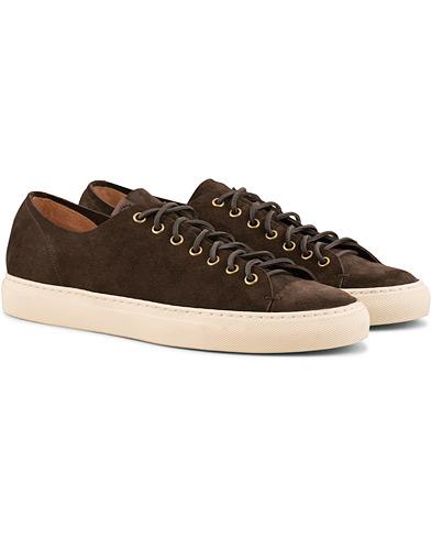 Buttero Suede Sneaker Dark Brown
