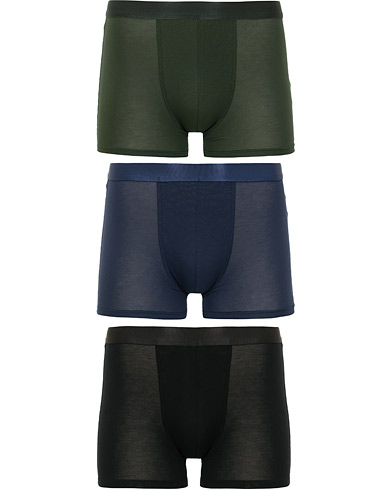 CDLP 3-Pack Boxer Briefs Black/Army Green/Navy i gruppen Kläder / Underkläder / Kalsonger hos Care of Carl (15405311r)