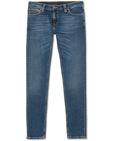 Nudie Jeans Skinny Lin Organic Jeans Mid Authentic Power