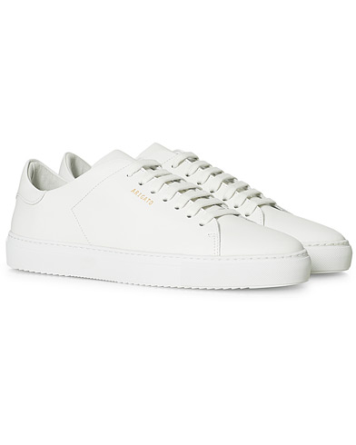 Axel Arigato Clean 90 Sneaker White Leather i gruppen Skor / Sneakers / Låga sneakers hos Care of Carl (15460611r)