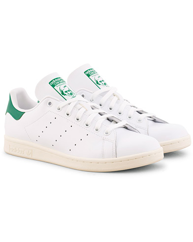 adidas Originals Stan Smith Premium Leather Sneaker White i gruppen Skor / Sneakers / Låga sneakers hos Care of Carl (15462911r)