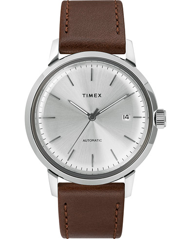 Timex Marlin Automatic 40mm Silver Dial  i gruppen Accessoarer / Klockor hos Care of Carl (15469610)