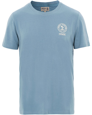 Morris Brady Tee Light Blue i gruppen Kläder / T-Shirts / Kortärmade t-shirts hos Care of Carl (15503711r)