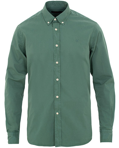 Morris Kane Button Down  Shirt Green i gruppen Kläder / Skjortor / Casual / Casual skjortor hos Care of Carl (15506811r)