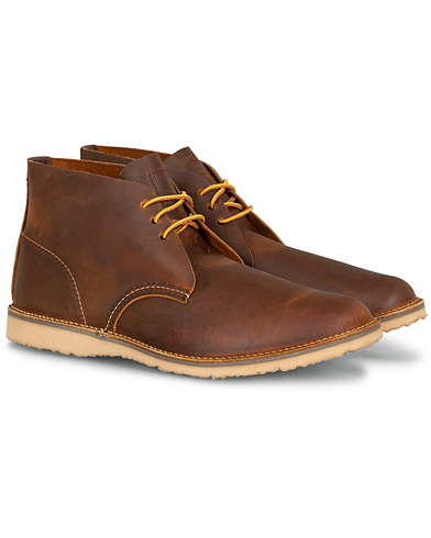 Red Wing Shoes Weekender Chukka Maple Muleskinner Leather i gruppen Skor / Kängor / Chukka boots hos Care of Carl (15519411r)