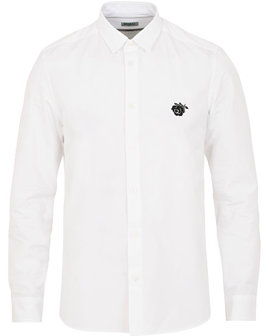 Kenzo Slim Fit Rose Oxford Shirt White i gruppen Kläder / Skjortor / Casual / Oxfordskjortor hos Care of Carl (15523411r)
