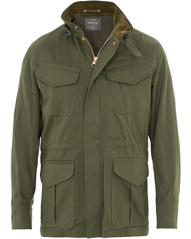 Private White V.C. Spring Field Jacket Green i gruppen Kläder / Jackor / Field jackets hos Care of Carl (15531911r)