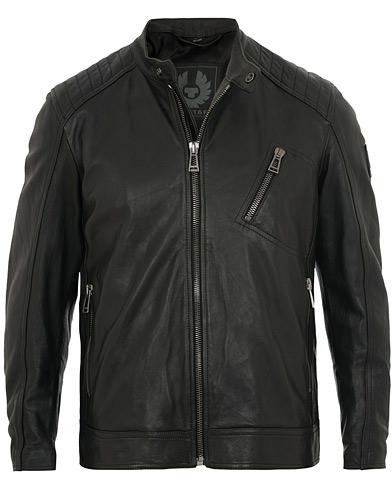 Belstaff V Racer Leather Jacket Black