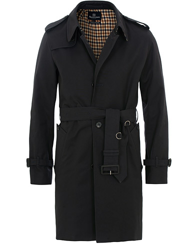 Aquascutum Corby Single Breasted Trenchcoat Navy i gruppen Kläder / Jackor / Rockar hos Care of Carl (15534011r)