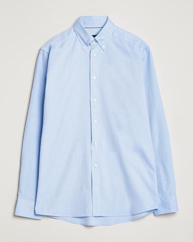 Eton Slim Fit Royal Oxford Button Down Light Blue