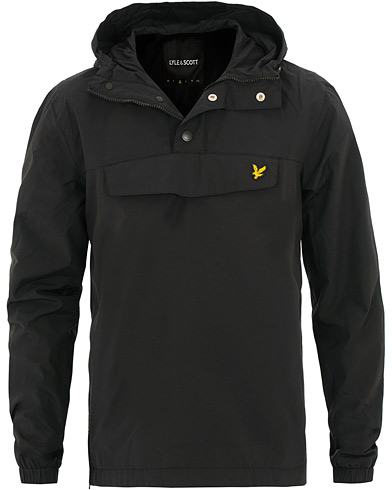 Lyle & Scott Pullover Anorak Jacket True Black i gruppen Kläder / Jackor / Tunna jackor hos Care of Carl (15546611r)