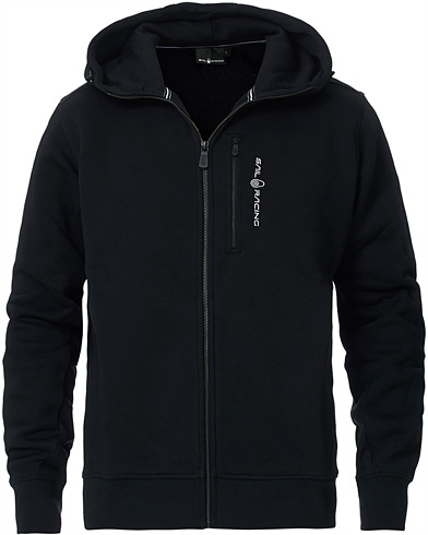 Sail Racing Bowman Full Zip Hoodie Carbon i gruppen Kläder / Tröjor / Huvtröjor hos Care of Carl (15552311r)