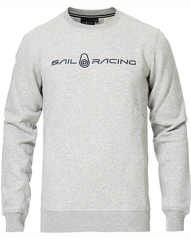 Sail Racing Bowman Crew Neck Sweater Grey Melange i gruppen Kläder / Tröjor / Sweatshirts hos Care of Carl (15552611r)
