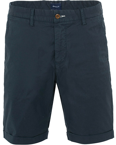 GANT Sunbleached Shorts Marine i gruppen Kläder / Shorts / Chinosshorts hos Care of Carl (15562511r)