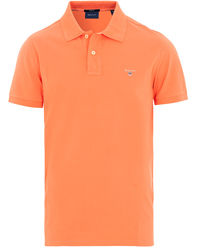GANT The Original Polo Coral Orange i gruppen Kläder / Pikéer / Kortärmade pikéer hos Care of Carl (15563711r)