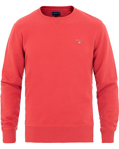 GANT Crew Neck Sweatshirt Cardinal Red i gruppen Kläder / Tröjor / Sweatshirts hos Care of Carl (15570411r)