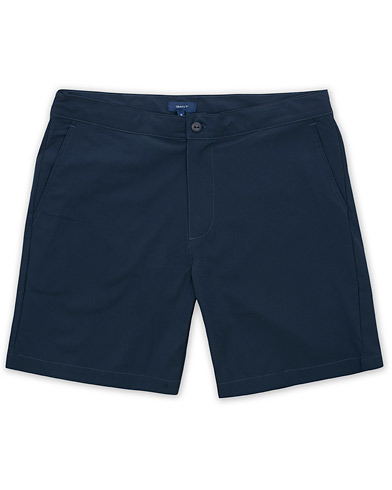 GANT Beach Bar Swim Shorts Marine i gruppen Kläder / Badbyxor hos Care of Carl (15575211r)