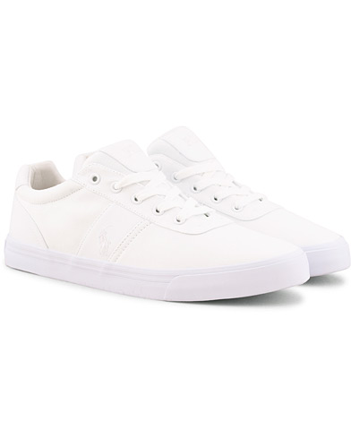 Polo Ralph Lauren Hanford Canvas Sneaker Pure White i gruppen Skor / Sneakers / Låga sneakers hos Care of Carl (15581711r)