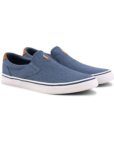 Polo Ralph Lauren Thompson Slip On Sneaker Newport Navy i gruppen Skor / Sneakers / Slip-on sneakers hos Care of Carl (15582611r)