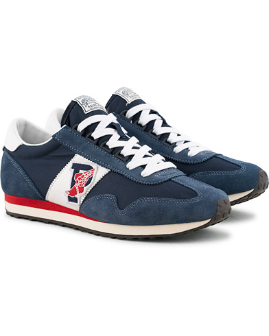 Polo Ralph Lauren Train 90 Running Sneaker Newport Navy i gruppen Skor / Sneakers / Running sneakers hos Care of Carl (15583111r)