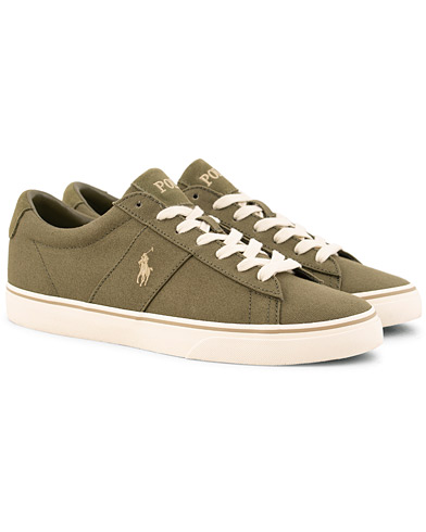 Polo Ralph Lauren Sayer Canvas Sneaker Field Sage i gruppen Skor / Sneakers / Låga sneakers hos Care of Carl (15583311r)