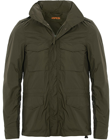 Aspesi Minifield Jacket Dark Green i gruppen Kläder / Jackor / Field jackets hos Care of Carl (15584011r)