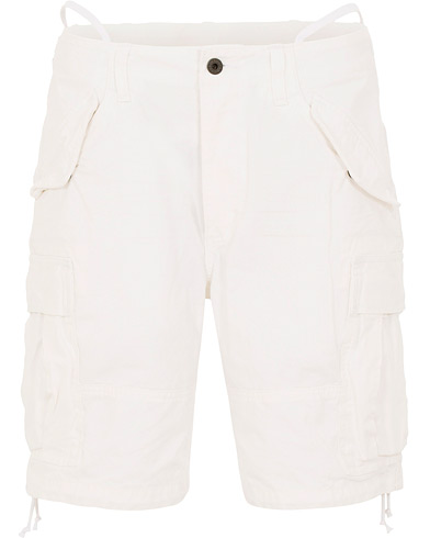 Polo Ralph Lauren Washed Cargo Shorts White i gruppen Kläder / Shorts / Chinosshorts hos Care of Carl (15587811r)