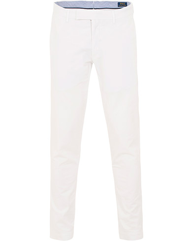Polo Ralph Lauren Tailored Slim Fit Chinos White i gruppen Kläder / Byxor / Chinos hos Care of Carl (15588411r)