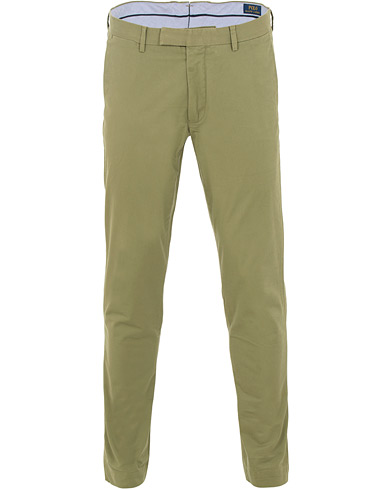 Polo Ralph Lauren Tailored Slim Fit Chinos Spanish Green i gruppen Kläder / Byxor / Chinos hos Care of Carl (15588911r)
