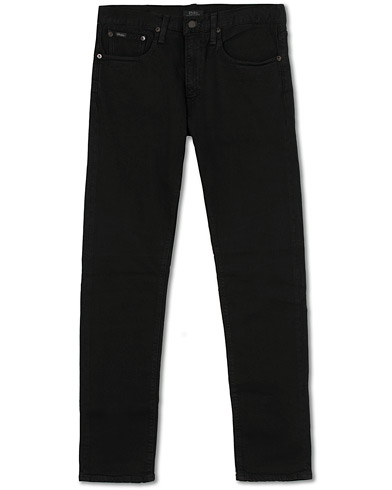Polo Ralph Lauren Sullivan Slim Fit Jeans Hudson Black Stretch i gruppen Kläder / Jeans hos Care of Carl (15591711r)