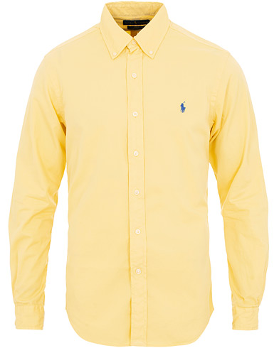 Polo Ralph Lauren Slim Fit Featherweight Twill Shirt Empire Yellow i gruppen Kläder / Skjortor / Casual / Casual skjortor hos Care of Carl (15593411r)