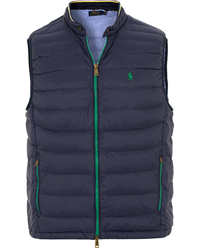 Polo Ralph Lauren Lightweight Down Vest French Navy i gruppen Kläder / Västar hos Care of Carl (15598011r)