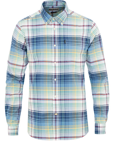 Barbour Lifestyle Tailored Fit Oxford 2 Shirt Mint i gruppen Kläder / Skjortor / Casual / Oxfordskjortor hos Care of Carl (15621011r)