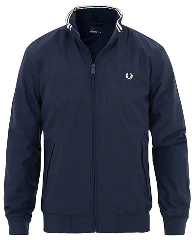 Fred Perry Brentham Jacket Navy i gruppen Kläder / Jackor / Tunna jackor hos Care of Carl (15646311r)