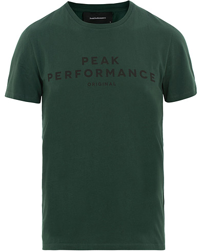 Peak Performance Original Tee Pine Grove i gruppen Kläder / T-Shirts / Kortärmade t-shirts hos Care of Carl (15658911r)