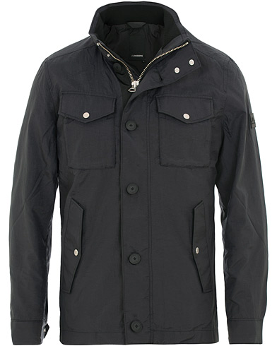 J.Lindeberg Bailey Tex Jacket Black i gruppen Kläder / Jackor / Field jackets hos Care of Carl (15668611r)