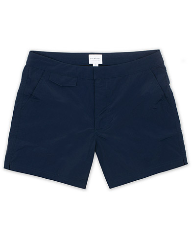 Sunspel Swim Shorts Navy