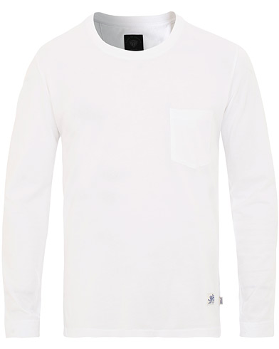 Tiger of Sweden Jeans Salk Long Sleeve Tee White i gruppen Kläder / T-Shirts / Långärmade t-shirts hos Care of Carl (15706711r)