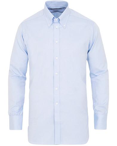 Turnbull & Asser Regular Fit Oxford Button Down Shirt Light Blue