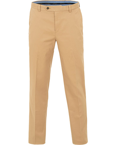 Brooks Brothers Milano Stretch Chino Khaki i gruppen Kläder / Byxor / Chinos hos Care of Carl (15726311r)