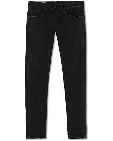 Dondup George Jeans Black i gruppen Kläder / Jeans hos Care of Carl (15732511r)