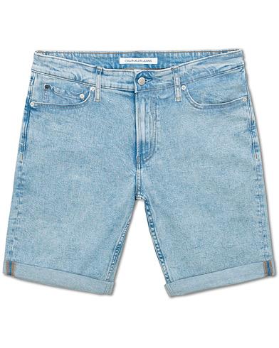 Calvin Klein Jeans Slim Jeans Shorts Medium Blue