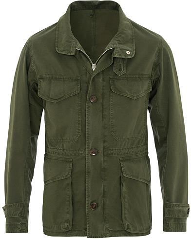 L.B.M. 1911 Cotton Twill Field Jacket Military Green