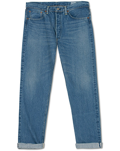 Orslow Straight Fit 105 Selvedge Jeans Two Year Wash