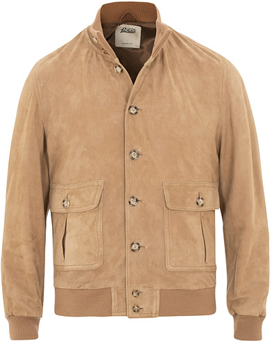 Valstar Valstarino Suede Jacket Light Brown i gruppen Kläder / Jackor / Skinnjackor hos Care of Carl (15786711r)