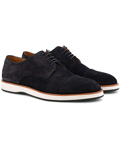 BOSS Oracle Derby Suede Navy i gruppen Skor / Derbys hos Care of Carl (15796611r)