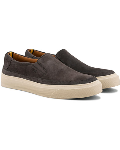 BOSS Eclipse Slip On Sneaker Grey i gruppen Skor / Sneakers / Slip-on sneakers hos Care of Carl (15796811r)